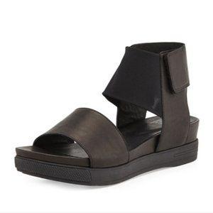 Eileen Fisher Spree Sport Velcro Leather Sandals